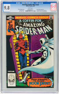 The Amazing Spider-Man #220 (Marvel, 1981) CGC NM/MT 9.8 White pages