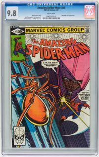 The Amazing Spider-Man #213 (Marvel, 1981) CGC NM/MT 9.8 White pages