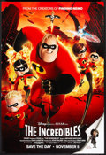 """Movie Posters:Animated, The Incredibles (Buena Vista, 2004). One Sheet (27"""" X 40"""") DS Advance. Animated.. ..."""