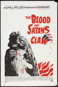 """Movie Posters:Horror, The Blood on Satan's Claw (Cannon, 1971). One Sheet (27"""" X 41"""").Horror.. ..."""