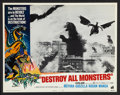 "Movie Posters:Science Fiction, Destroy All Monsters (American International, 1969). Lobby Card Setof 8 (11"" X 14""). Science Fiction.. ... (Total: 8 Items)"