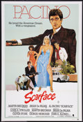 """Movie Posters:Crime, Scarface (Universal, 1983). Australian One Sheet (27"""" X 40"""").Crime.. ..."""