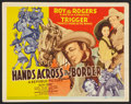 """Movie Posters:Western, Hands Across the Border (Republic, 1944). Lobby Card Set of 8 (11"""" X 14""""). Western.. ... (Total: 8 Items)"""