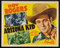 "Movie Posters:Western, The Arizona Kid (Republic, 1939). Half Sheet (22"" X 28""). Western.. ..."