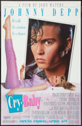 "Movie Posters:Comedy, Cry-Baby (Universal, 1990). Poster (29.5"" X 45"") SS Advance. Comedy.. ..."