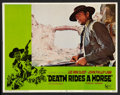"Movie Posters:Western, Death Rides a Horse (United Artists, 1968). Lobby Card Set of 8(11"" X 14""). Western.. ... (Total: 8 Items)"