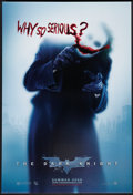 "Movie Posters:Action, The Dark Knight (Warner Brothers, 2007). One Sheet (27"" X 40"") DSAdvance Style A. Action.. ..."