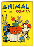 Golden Age (1938-1955):Funny Animal, Animal Comics #5 (Dell, 1943) Condition: VF+....