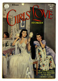 Golden Age (1938-1955):Romance, Girls' Love Stories #2 (DC, 1949) Condition: FN/VF....