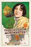 "Movie Posters:Drama, Girl from Montmartre (First National, 1926). One Sheet (27"" X41"").. ..."