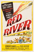 "Movie Posters:Western, Red River (United Artists, 1948). One Sheet (27"" X 41"").. ..."