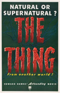 """Movie Posters:Science Fiction, The Thing from Another World (RKO, 1951). One Sheet (27"""" X 41"""")....."""