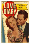 Golden Age (1938-1955):Romance, Love Diary #1 (Our Publishing Co., 1949) Condition: VF....