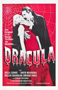 "Movie Posters:Horror, Dracula (Universal, R-1960s). One Sheet (27"" X 41"").. ..."