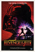 "Movie Posters:Science Fiction, Revenge of the Jedi (20th Century Fox, 1982). One Sheet (27"" X41"").. ..."