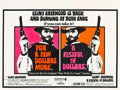 """Movie Posters:Western, A Fistful of Dollars/For a Few Dollars More Combo (United Artists, R-1969). British Quad (30"""" X 40"""").. ..."""