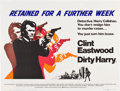 "Movie Posters:Crime, Dirty Harry (Warner Brothers, 1971). British Quad (30"" X 40"").. ..."