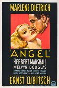 "Movie Posters:Drama, Angel (Paramount, 1937). Australian One Sheet (27"" X 40"").. ..."