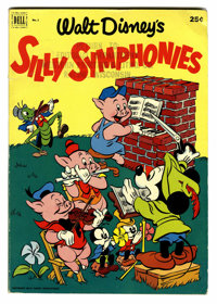 Dell Giant Comics Silly Symphonies #1 File Copy (Dell, 1952) Condition: FN/VF