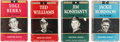 Baseball Collectibles:Others, 1950-1952 Most Valuable Player Series Baseball Books Lot of 4. ...