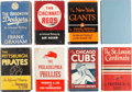 Baseball Collectibles:Others, 1944-1953 National League Baseball Books Lot of 8. ...