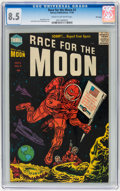 Golden Age (1938-1955):Science Fiction, Race For the Moon #3 File Copy (Harvey, 1958) CGC VF+ 8.5 Cream tooff-white pages....