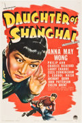 "Movie Posters:Crime, Daughter of Shanghai (Paramount, 1937). One Sheet (27"" X 41"").. ..."