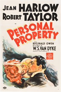 "Personal Property (MGM, 1937). One Sheet (27"" X 41"") Style D"