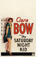 "Movie Posters:Comedy, The Saturday Night Kid (Paramount, 1929). Window Card (14"" X 22"")....."