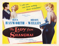 """Movie Posters:Film Noir, The Lady from Shanghai (Columbia, 1947). Half Sheet (22"""" X 28"""")Style B.. ..."""