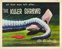 "The Killer Shrews (McLendon Radio Pictures, 1959). Half Sheet (22"" X 28"")"