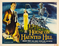 "House on Haunted Hill (Allied Artists, 1959). Half Sheet (22"" X 28"")"