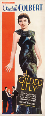 "The Gilded Lily (Paramount, 1935). Insert (14"" X 36"")"