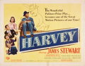 "Movie Posters:Comedy, Harvey (Universal International, 1950). Half Sheet (22"" X 28"")Style B.. ..."