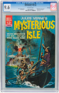 Mysterious Isle #1 File Copy (Dell, 1963) CGC NM+ 9.6 Off-white pages
