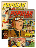 Golden Age (1938-1955):Miscellaneous, Popular Comics #109-110 Group (Dell, 1945).... (Total: 2 Comic Books)