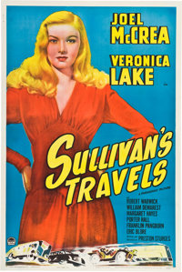 "Sullivan's Travels (Paramount, 1941). One Sheet (27"" X 41"") Style A"