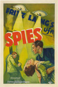 """Spies (MGM-UFA, 1928). Signed One Sheet (27"""" X 41"""")"""
