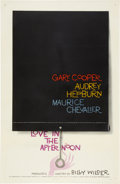 "Movie Posters:Romance, Love in the Afternoon (Allied Artists, 1957). One Sheet (27"" X41"").. ..."