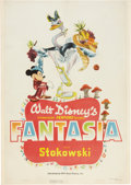 "Movie Posters:Animated, Fantasia (RKO, 1940). One Sheet (27"" X 41"") Style A.. ..."