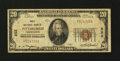 National Bank Notes:Pennsylvania, Pittsburgh, PA - $20 1929 Ty. 1 The First NB Ch. # 252. ...
