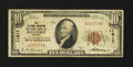 National Bank Notes:Virginia, Roanoke, VA - $10 1929 Ty. 1 The Colonial-American NB Ch. # 11817....