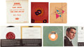 Music Memorabilia:Recordings, Frank Sinatra Promotional, Jukebox, and Foreign Record Group(1950s-60s).... (Total: 14 Items)