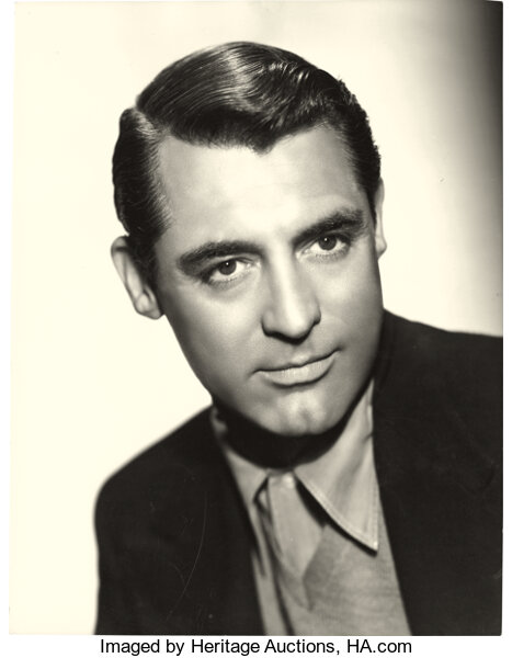Movie Posters Miscellaneous Cary Grant By Scotty Welborne Warner Brothers 1940s