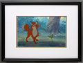 Movie/TV Memorabilia:Original Art, The Fox and The Hound Original Production Cel....