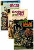 Bronze Age (1970-1979):Miscellaneous, Dagar the Invincible/Brothers of the Spear Group (Gold Key, 1970s)Condition: Average VF.... (Total: 33 Comic Books)