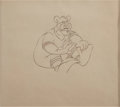 animation art:Production Drawing, Barney Bear Animation Production Drawing Original Art (MGM,undated)....