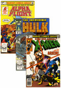 Modern Age (1980-Present):Miscellaneous, Marvel Modern Age Short Box Group (Marvel, 1980s) Condition: Average VF+....