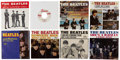 Music Memorabilia:Recordings, Beatles 45 and Picture Sleeve Group (Swan and Capitol, 1963-68)....(Total: 8 Items)