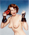 Memorabilia:Miscellaneous, Airbrushed Pin-Up Photograph Production Art (undated)....